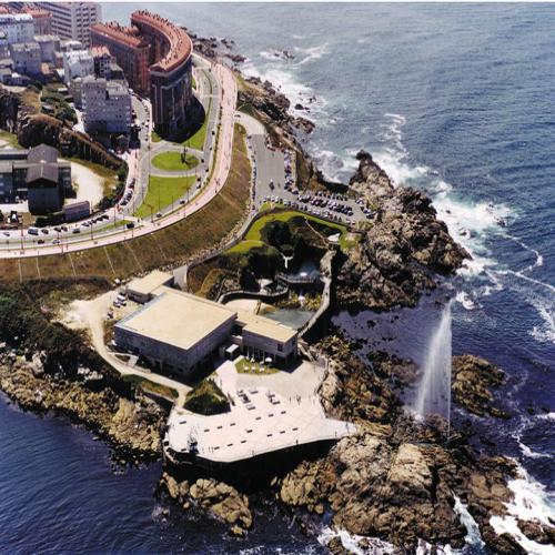 Restaurante Finisterrae del Acuario, en el paseo marítimo de A Coruña
